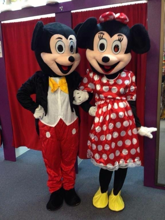 MINNIE _ MICKEY MOUSE (MASCOT)