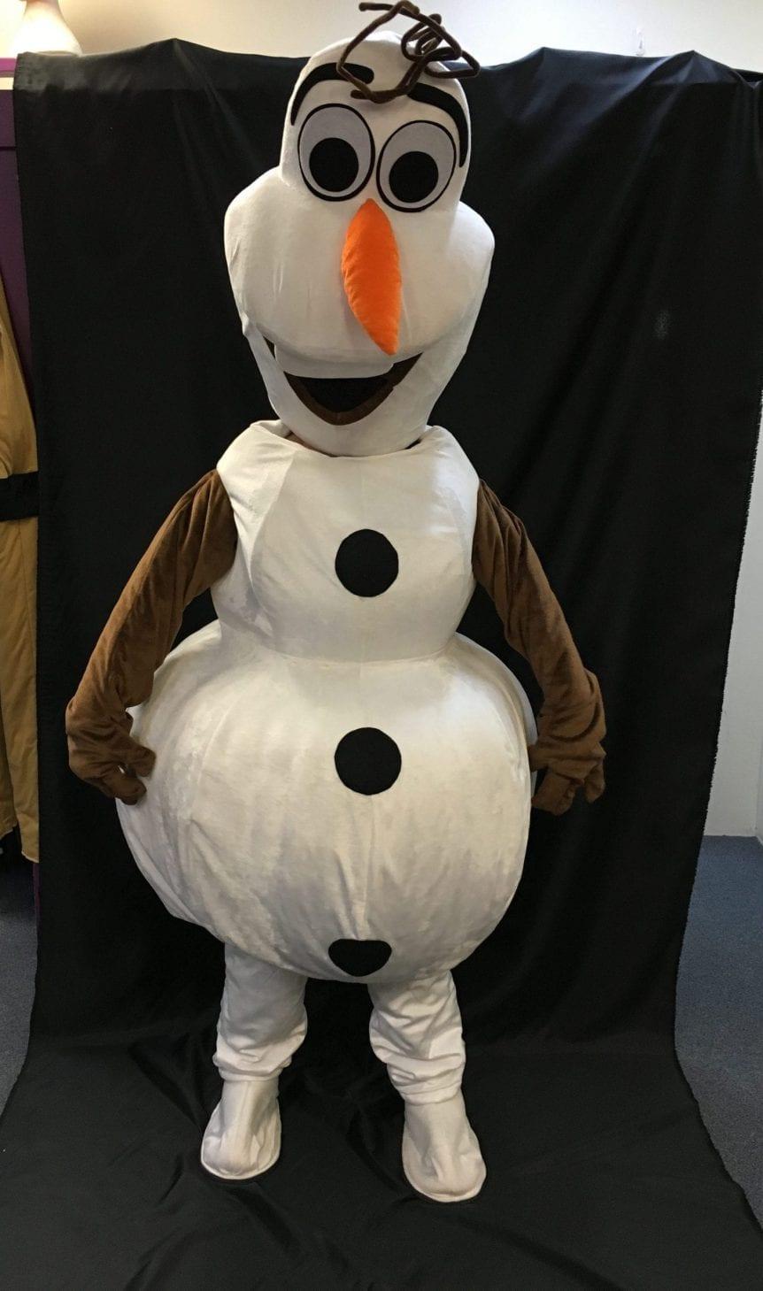 OLAF SNOWMAN (MASCOT)